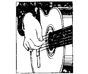 弹吉他左右手的正确姿势