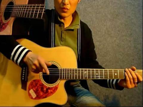 弹指分解-赛平教学吉他伴奏的新技法